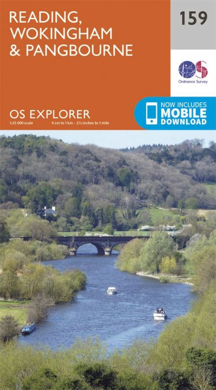OS Explorer 159 - Reading, Wokingham & Pangbourne